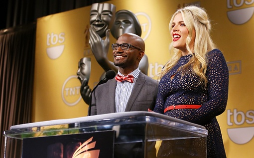Actors Taye Diggs and Busy Philipps Announce 2013 SAG Nominees