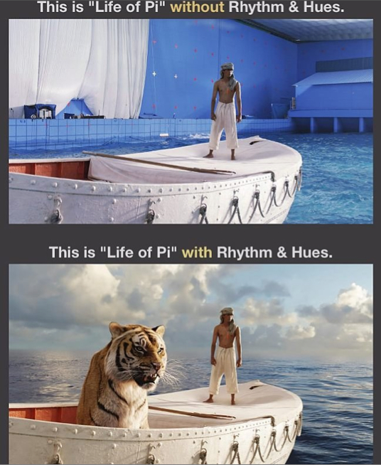 Bringing Color and Hue to Life of Pi at the Expense of the Visual Artists