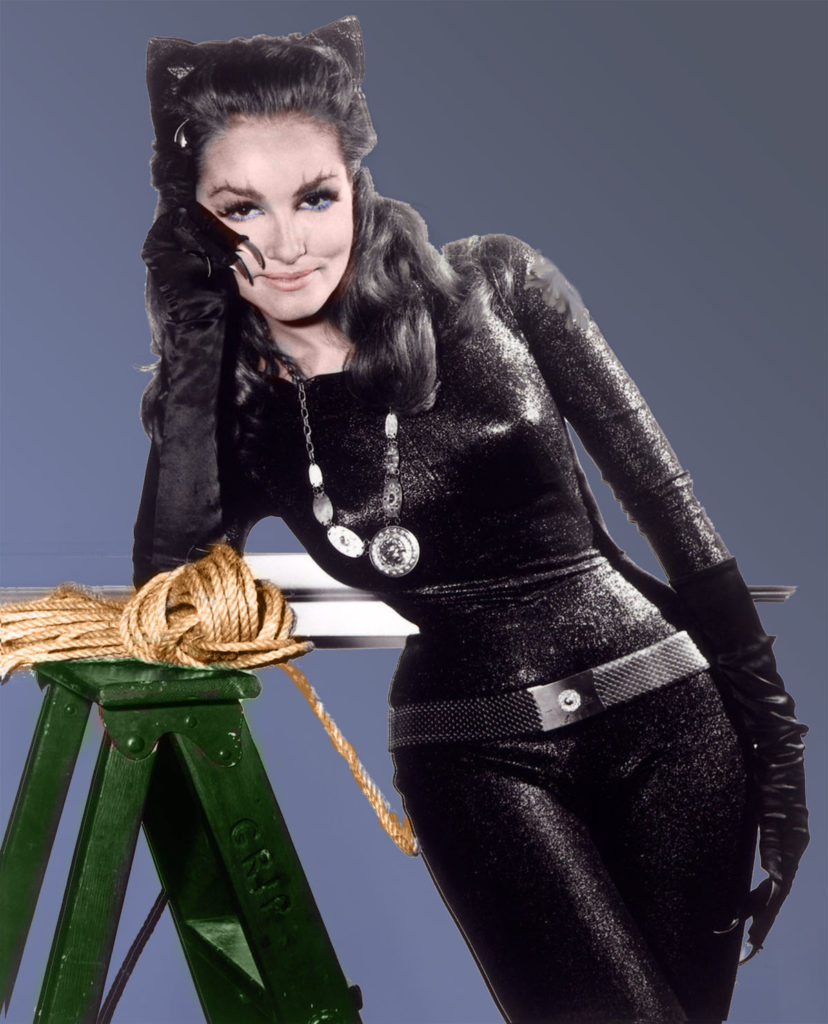 Julie Newmar - Still the Purrfect Villainess
