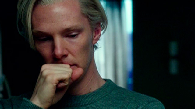 Benedict Cumberbatch as Julian Assange in The Fifth Estate Opening Gala - TIFF 2013