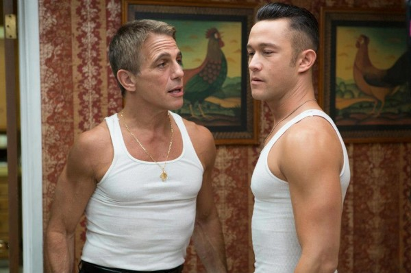 "Joseph Gordon-Levitt and Tony Danza just a father and a son from Jersey in ""Don Jon"""
