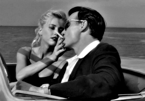 "Johnny Depp and Amber Heard in ""The Rum Diary"" are now Engaged"
