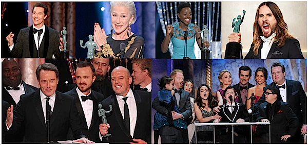 Some of the 'Right' Winners - Screen Actors Guild Awards® 2014